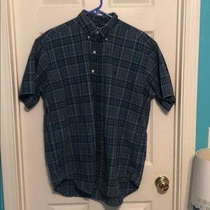 Men's Ralph Lauren Dress Shirt Short Sleeve